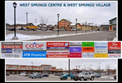West Springs Centre and Village