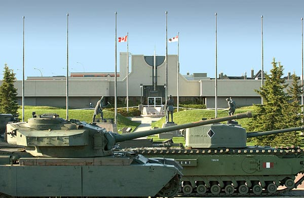 Military Museums in Calgary - Image Credit: http://en.wikipedia.org/wiki/File:Military-Museums-Szmurlo.jpg