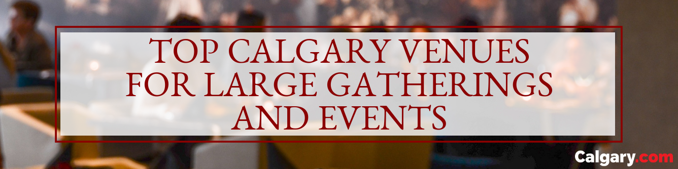 The Best Places to Have Large Gatherings and Events in Calgary