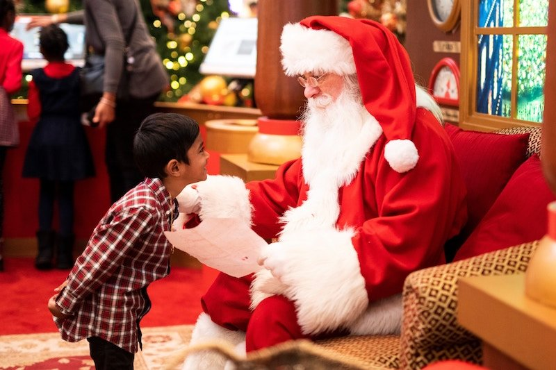 Meet Santa at the Marlborough Mall in Calgary