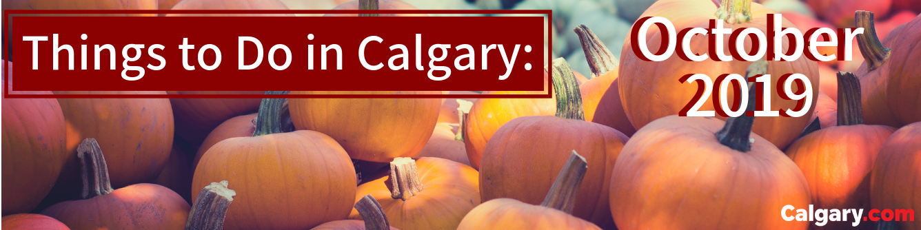 October Events in Calgary