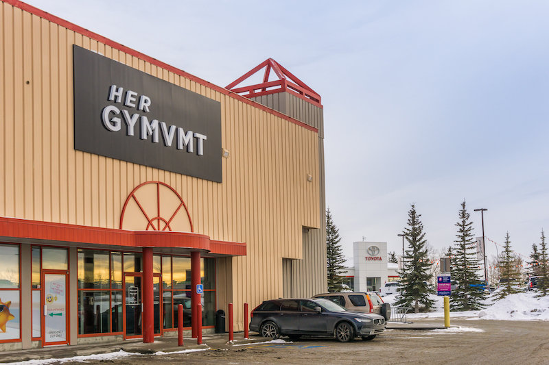Calgary Fitness Locations: GYMVMT Calgary