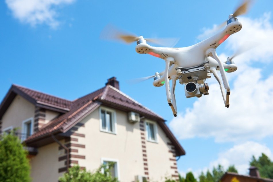 Drone Technology is Changing the Face of Real Estate