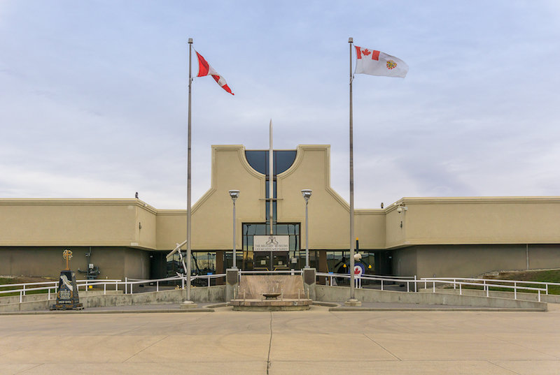 The military museum in Calgary