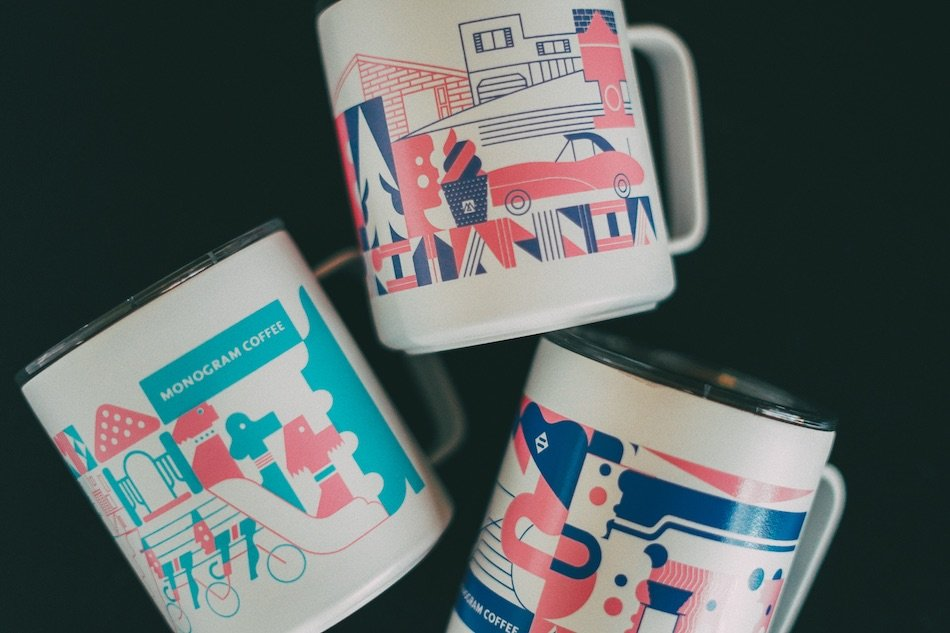 Monogram Coffee Mugs You Can Buy Online or In Person