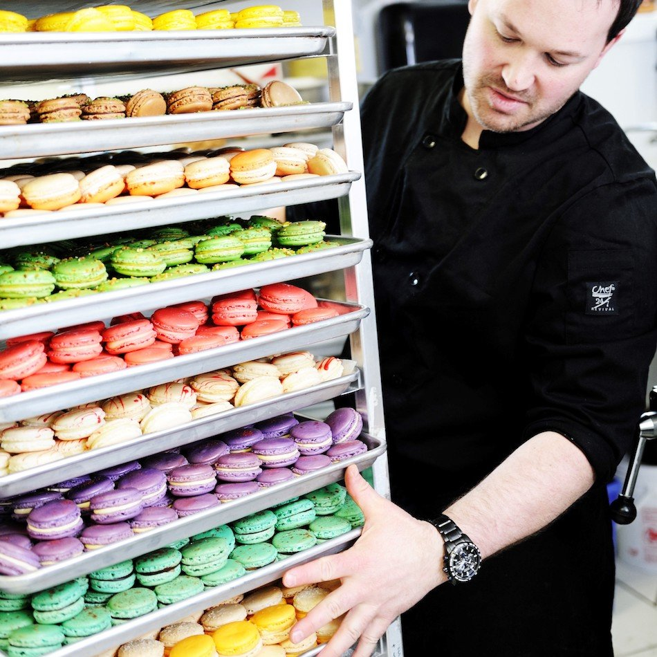 Macarons at Yann Haute Patisserie