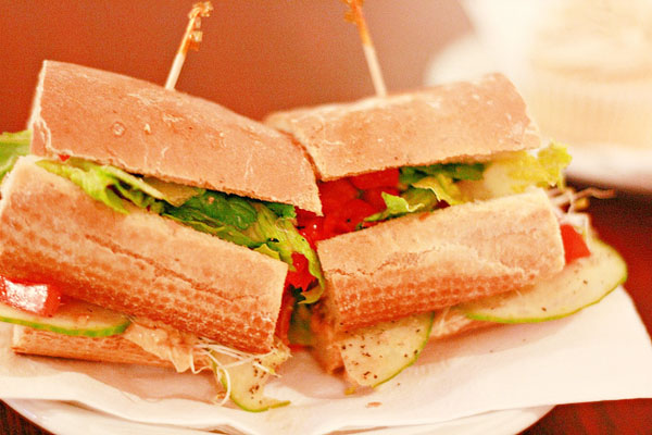 Vegan Sandwich - Image Credit: https://www.flickr.com/photos/sweetonveg/6814265891
